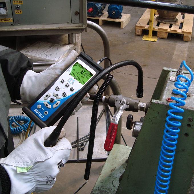 Detektory nieszczelności winstalacji sprężonego powietrza